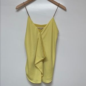 RACHEL ROY Chain Yellow Green Top